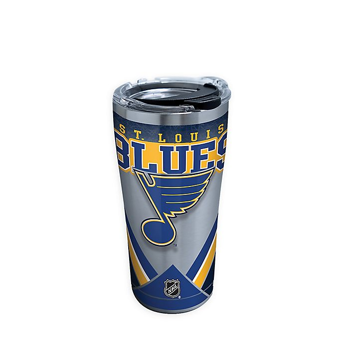 Alternate image 1 for Tervis® NHL St. Louis Blues 20 oz. Stainless Steel Tumbler with Lid