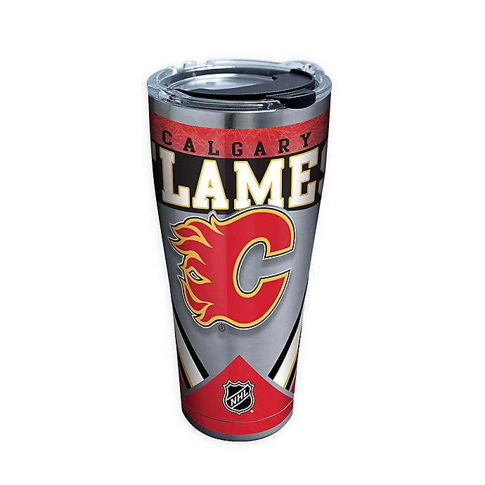 Alternate image 1 for Tervis® NHL Calgary Flames 30 oz. Stainless Steel Tumbler with Lid