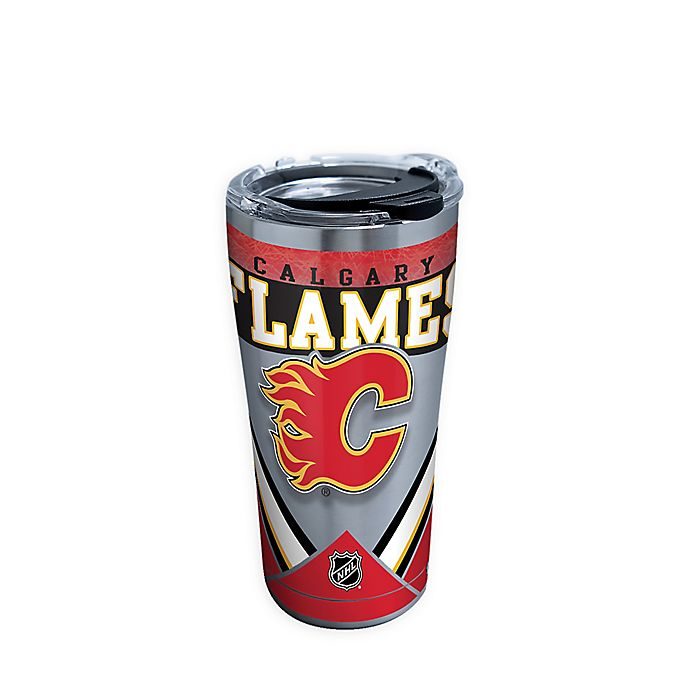 Alternate image 1 for Tervis® NHL Calgary Flames 20 oz. Stainless Steel Tumbler with Lid