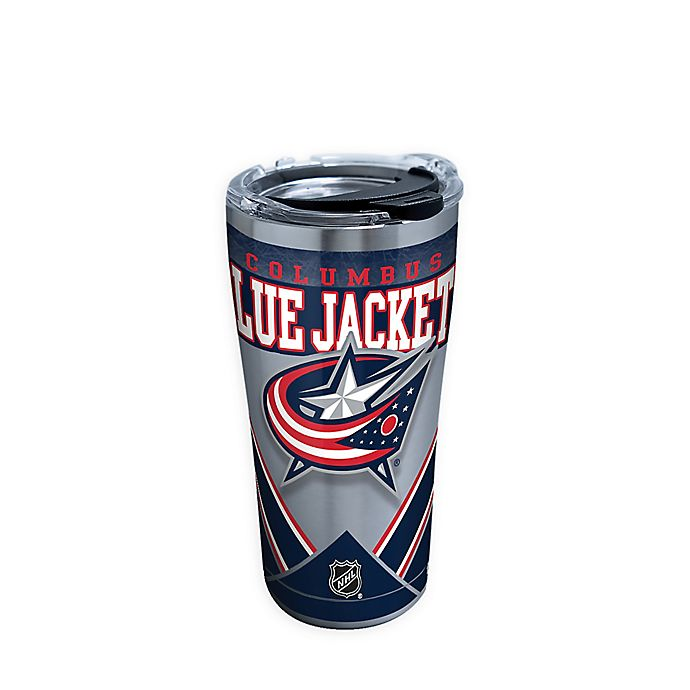 Alternate image 1 for Tervis® NHL Columbus Blue Jackets 20 oz. Stainless Steel Tumbler with Lid