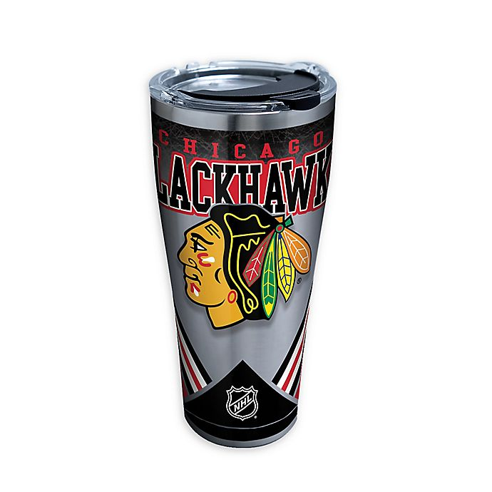 Alternate image 1 for Tervis® NHL Chicago Blackhawks 30 oz. Stainless Steel Tumbler with Lid