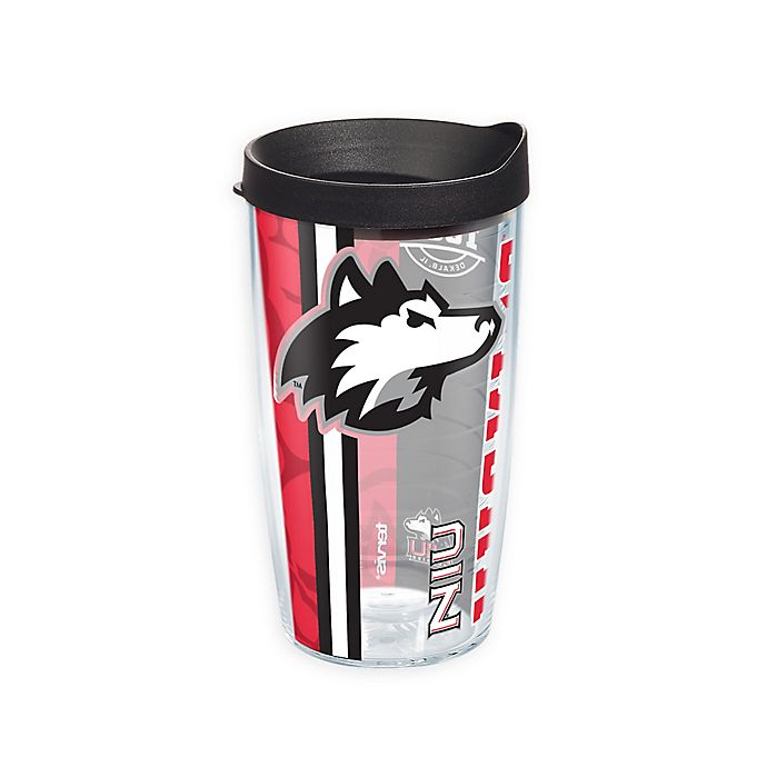 Alternate image 1 for Tervis® Northern Illinois University College Pride 16 oz. Wrap Tumbler with Lid