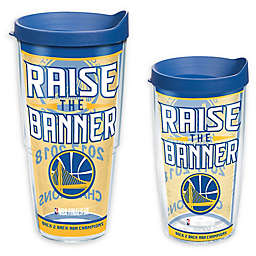Tervis® NBA Golden State Warriors 2018 Champs Wrap Tumbler with Lid