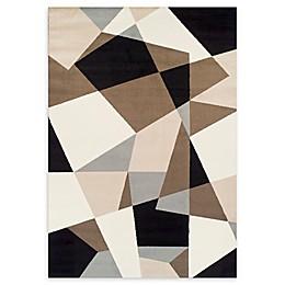 Achim Ferrera Multicolor Geometric 5'2 x 7'7 Area Rug