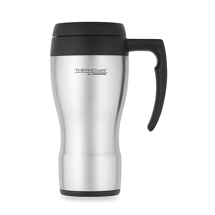 Alternate image 1 for Thermos THERMOcafe™ Foam Insulated 16-Ounce Travel Mug