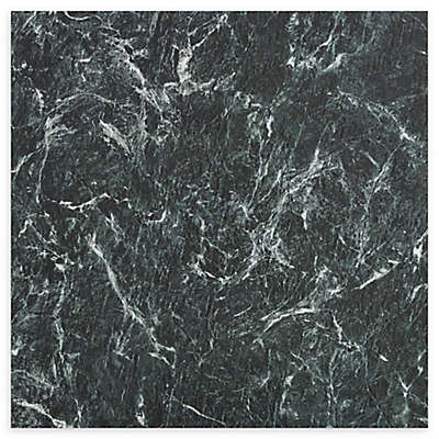 Achim Majestic 10-Pack 18-Inch Self-Stick Marble Floor Tiles in Copper