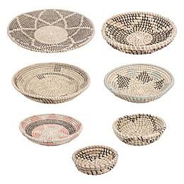 Ren-Wil Elmina 7-Piece Seagrass Basket Set