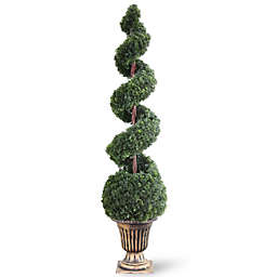 National Tree Company 66-Inch Artificial Cedar Spiral Tree