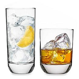 Libbey® Glass Polaris 16-Piece Drinkware Set