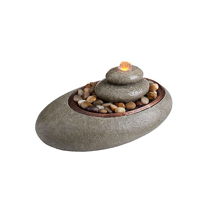 Alternate image 1 for Mirra Oceanside Relaxation Fountain in Natural