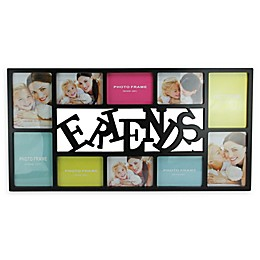 Northlight 28.75-Inch Dual-Sized 'Friends' Picture Collage Frame