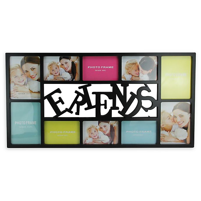 Alternate image 1 for Northlight 28.75-Inch Dual-Sized 'Friends' Picture Collage Frame