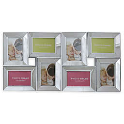 Northlight 27.5-Inch Dual-Sized Glass Collage Frame