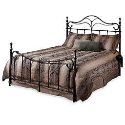 Hillsdale Bennett Queen Complete Bed in Antique Bronze