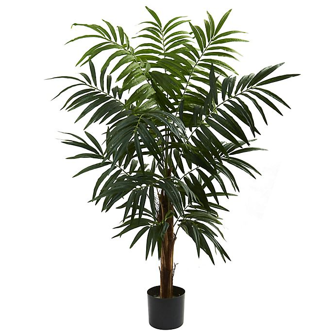 Alternate image 1 for Nearly Natural 4.5-Foot Bulb Areca Artificial Tree