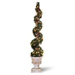 National Tree Company® 60-Inch Pre-Lit Juniper Spiral Artificial Tree