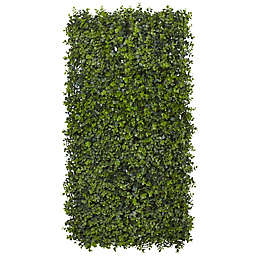 Nearly Natural 12-Inch x 12-Inch Artificial Eucalyptus Mat (Set of 8)