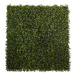 Nearly Natural 12-Inch x 10-Inch Artificial Boxwood Mat (Set of 12)
