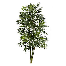 Nearly Natural 3-Foot Artificial Mini Bamboo Palm Plant