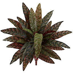 Nearly Natural 20-Inch Peacock Plants (Set of 4)