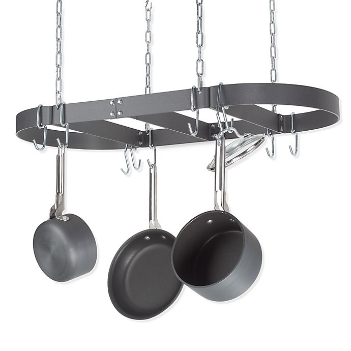 Alternate image 1 for Calphalon® Collector's Edition Oval Ceiling Pot Rack