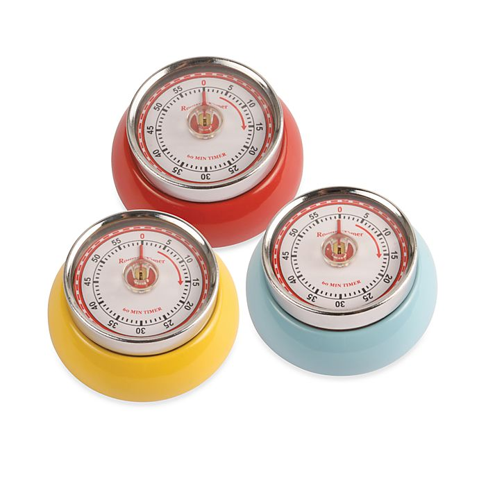 Buy Kikkerland® Magnetic Retro Kitchen Timer