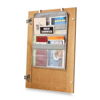 Over-The-Cabinet-Door Coupon Pockets | Bed Bath and Beyond