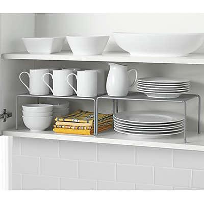 .ORG Metal Mesh Expandable Cabinet Shelves