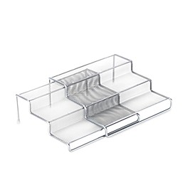 ORG 3-Tier Expandable Metal Mesh Shelf
