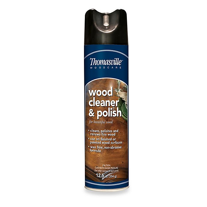 Alternate image 1 for Thomasville® Wood Cleaner & Polish in 12-Ounce Aerosol