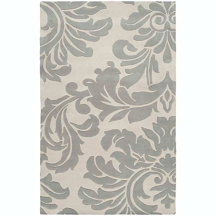 Alternate image 1 for Surya Athena Medallion 4' x 6' Hand Tufted Area Rug in Taupe/Gold