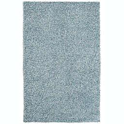 Surya Taz 5' x 8' Shag Area Rug in Medium Grey