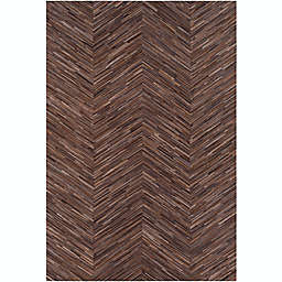 Surya Zander Hair on Hide Rug