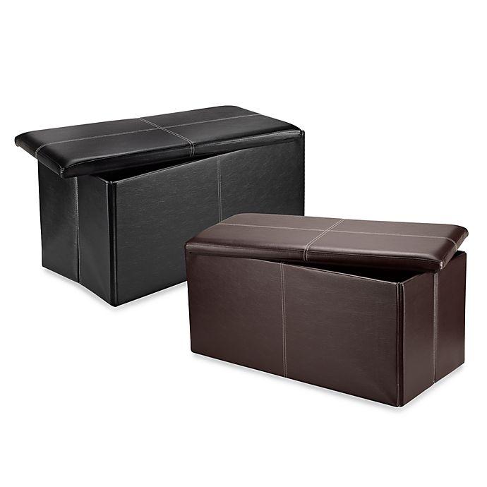 Phenomenal Fhe Foldable Storage Bench Bed Bath Beyond Inzonedesignstudio Interior Chair Design Inzonedesignstudiocom