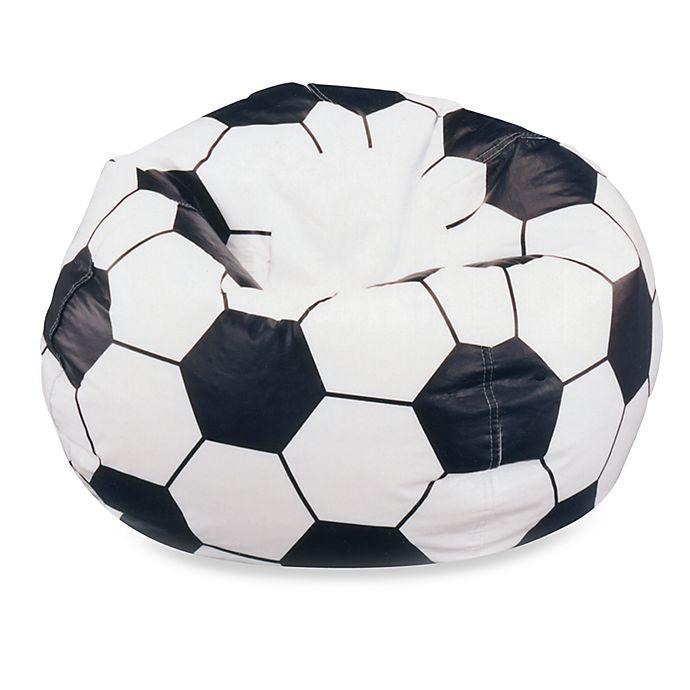 Large Soccer Ball Bean Bag Chair Cover Bed Bath Beyond