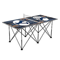 Brigham Young University Cougars Pop Up Table Tennis Set