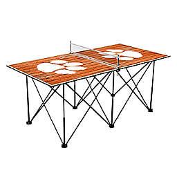 Clemson University Tigers Pop Up Table Tennis Set