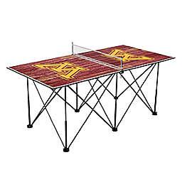 University of Minnesota Golden Gophers Pop Up Table Tennis Set