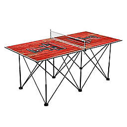 Texas Tech University Red Raiders Pop Up Table Tennis Set