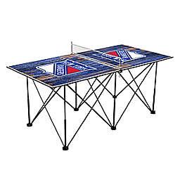 NHL New York Rangers Pop Up Table Tennis Set