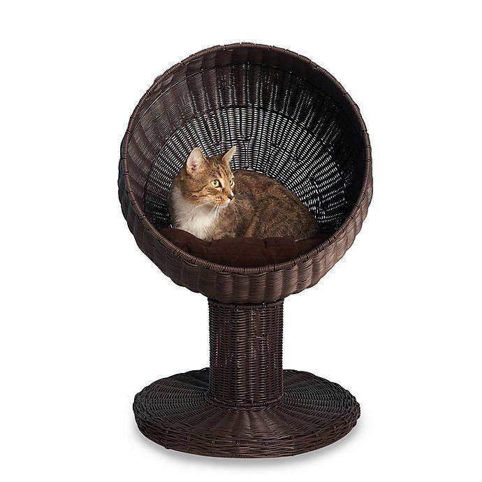 Alternate image 1 for The Refined Feline™ Kitty Ball Cat Bed™