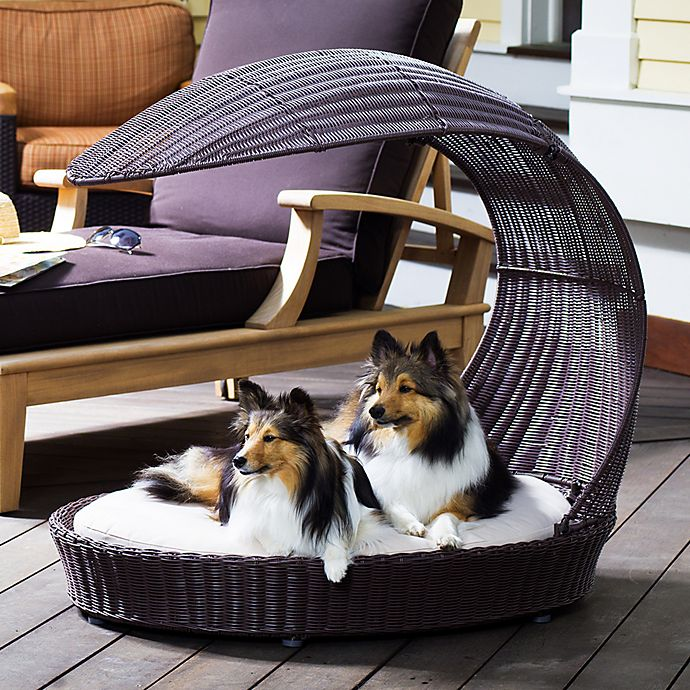 Alternate image 1 for The Refined Canine™ Outdoor Dog Chaise Lounger