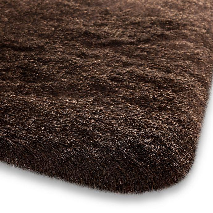 Alternate image 1 for Safavieh Paris Chocolate Shag Rugs