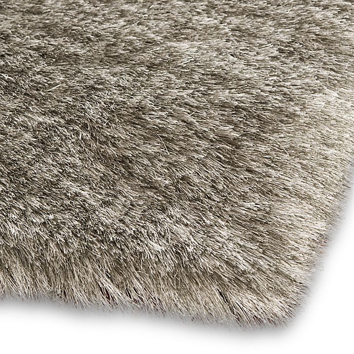 Alternate image 1 for Safavieh Paris 4-Foot x 6-Foot Shag Rug in Silver