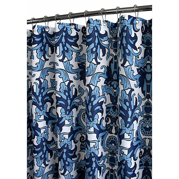 Park B SmithR Rococo Scroll 72 X Watershed Shower Curtain