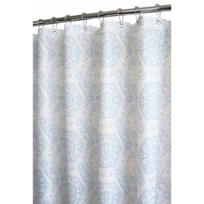 Park B SmithR Venetian Tile 72 Inch X WatershedR Shower Curtain