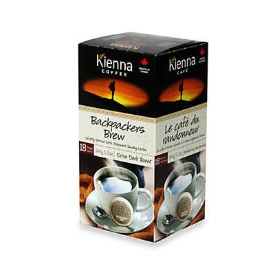 Kienna™ Coffee Pods (18 Count) - Backpacker's Brew Extra Dark Roast Coffee