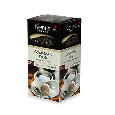 Kienna™ Coffee Pods (18 Count) - Colombian Dark Roast Coffee