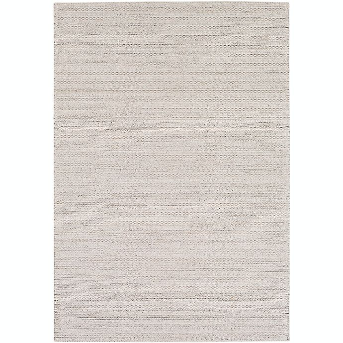 Alternate image 1 for Surya Kindred 9' x 13' Handwoven Braided Area Rug in Light Grey