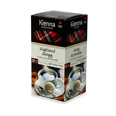 Kienna™ Coffee Pods (18 Count) - Highland Grogg Light - Medium Roast Coffee